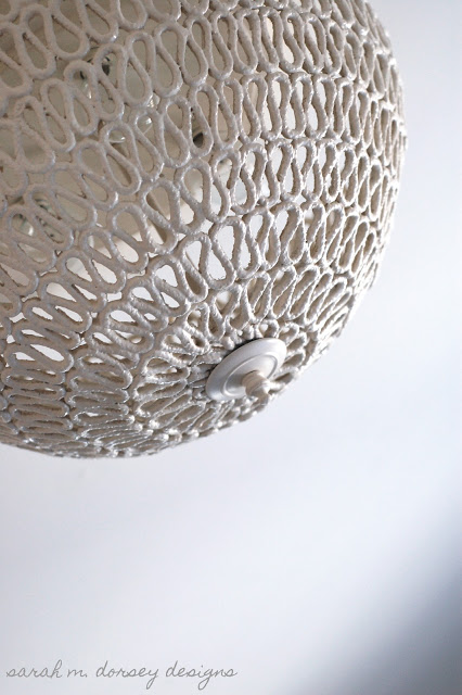 Rope dome lampshade 6