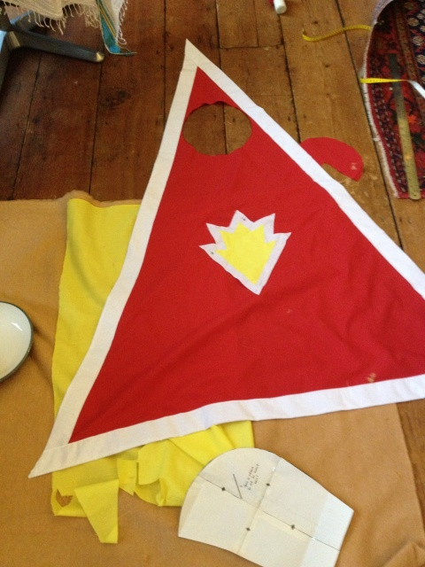 Superted construction cape