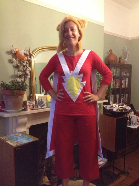 Superted fancy dress outfit